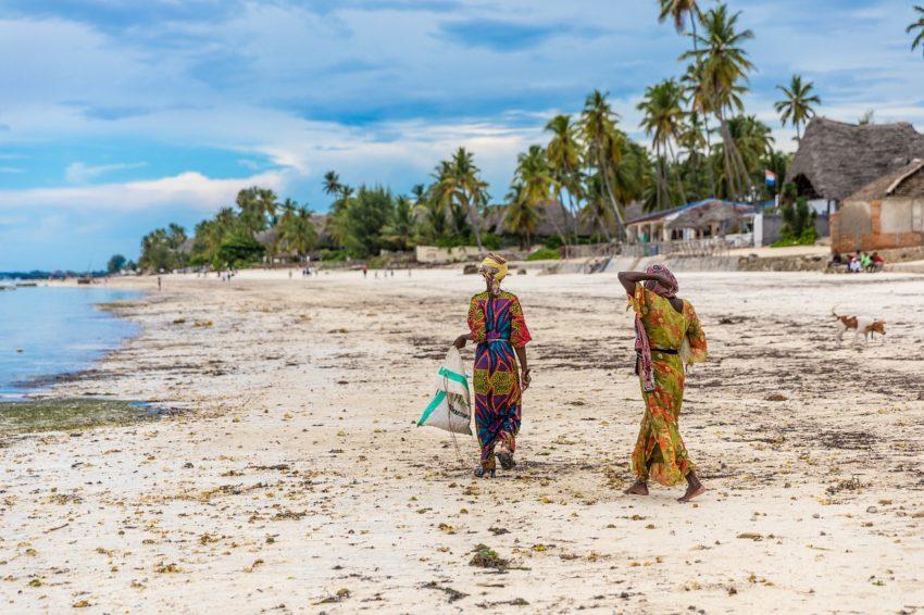 village et plage jambiani à zanzibar